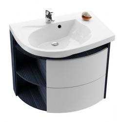 RAVAK Skrinka pod umývadlo SDU Rosa Comfort L/P variant, breza / biela, X000000163 (X000000162)