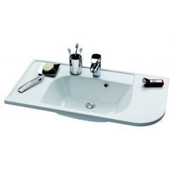 RAVAK Umývadlo Praktik S s otvormi, XJ6L1100000 (XJ6P1100000)