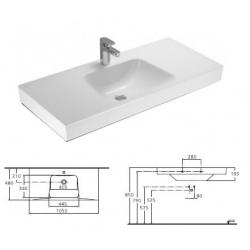 IDEAL STANDARD Umývadlo Imagine Ambiente kod T094801