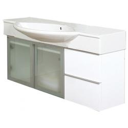 EDEN  závesná skrinka s keramickým umývadlom  LYNX NEW kod LYN 53 xx yy
