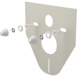ALCAPLAST izolačná doska pre závesné wc a bidet s príslušenstvom a krytkou (biela) kod M910