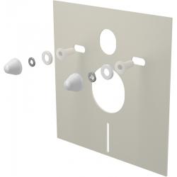 ALCAPLAST izolačná doska pre závesné wc a bidet s príslušenstvom a krytkou kod M930