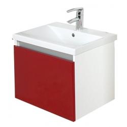 EDEN  závesná skrinka s keramickým umývadlom EVER kod EV 02 D xx yy