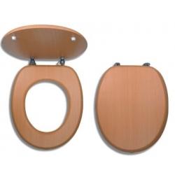 NOVASERVIS WC sedadlo Dýhované drevo kod WC/BUK
