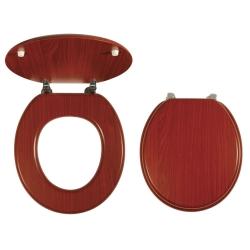 NOVASERVIS WC sedadlo Dýhované drevo kod WC/ORECH LYRA