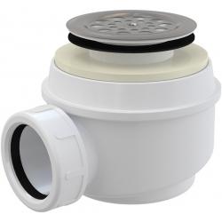 ALCAPLAST Sifón vaničkový s nerezovou mriežkou kod A46 Ø50