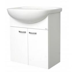 EDEN závesná skrinka s keramickým umývadlom  80 cm PLUS X kod PX 07 xx F1