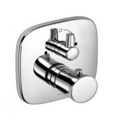 KLUDI termostatická vaňová a sprchová batéria AMBA chróm kód 538300575 - komplet