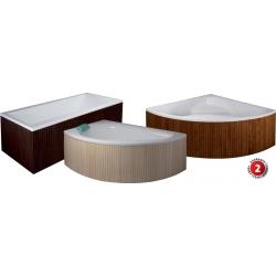 HOPA čelný panel k vani CASERTA 140 cm drevený, rôzne farby
