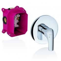 RAVAK sprchová podomietková batéria bez prepínača ROSA pre R-box kód RS 066.00