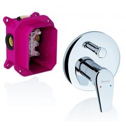 RAVAK vaňová a sprchová podomietková batéria s prepínačom NEO pre R-box kód NO 065.00
