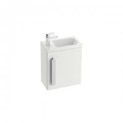 RAVAK skrinka s poličkou pod mini-umývadlo SD Chrome 400 biely kód X000000538