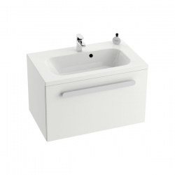 RAVAK skrinka pod umývadlo so zásuvkou SD Chrome 600 biela/biela kód X000000530