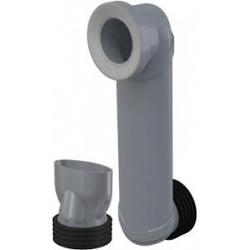 ALCAPLAST koleno odpadu 90/110 slim kod MS906