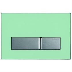 GEBERIT ovládacie tlačidlo SIGMA50 prevedenie Zelené sklo satinované kód 115.788.SE.1