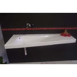 AKCIA !! HATRIA umývadlo GRANDANGOLO pravé 130 x 50 cm biele Y0XT