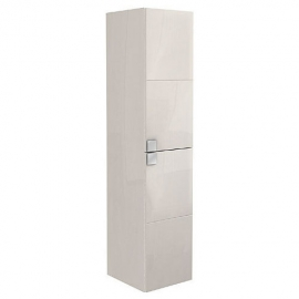 KOLO Primo skrinka vysoká biela/biela lesk 136 cm kod KOL88181000