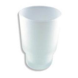 NOVASERVIS ńáhradný pohárik NOVATORRE 1, pieskované sklo 6106,XS
