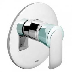 KLUDI podomietková sprchová jednopáková batéria JOOP! chróm/sklo zelené kód 55655H775