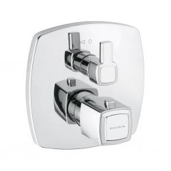 KLUDI podomietková sprchová termostatická batéria Q-BEO chróm kód 508350542