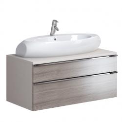 OPOCZNO skrinka METROPOLITAN 100 pod umývadlo High Street 90, sivý dub OS581-009