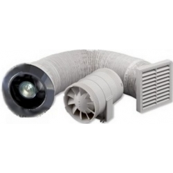Zehnder Silent kúpelňový ventilátor s osvetlením