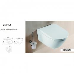 Bath Concept WC ZORIA závesné 560x360x340 mm