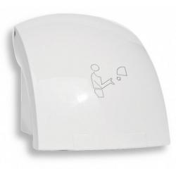NOVASERVIS Elektrický senzorový sušič rúk, 1500 W, biela