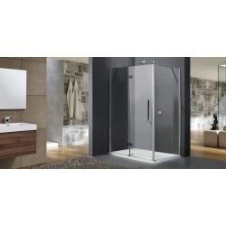 Aquatek Better R53 sprchovací kút obdĺžnikový 140x90cm ,chróm, sklo číre