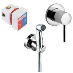 KLUDI sprchový hygienický set pod omietku BOZZ so sprškou 389990576 / 7304205-00
