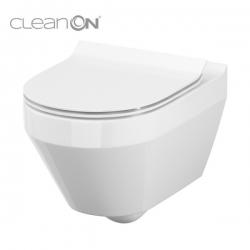 Cersanit CREA WC misa závesná, oválna CleanOn