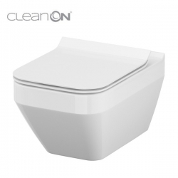 Cersanit CREA WC misa závesná, hranatá CleanOn