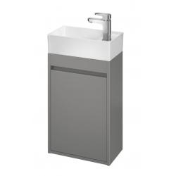 Cersanit - Skrinka pod umývadlo Crea 40 šedý mat