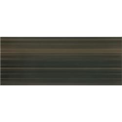 Opoczno Organza Braz 20x50 cm tmavohnedý obklad , čokoládový obklad