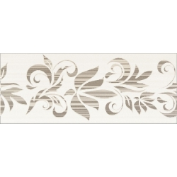 Opoczno Organza Braz dekor 20x50 cm kvet